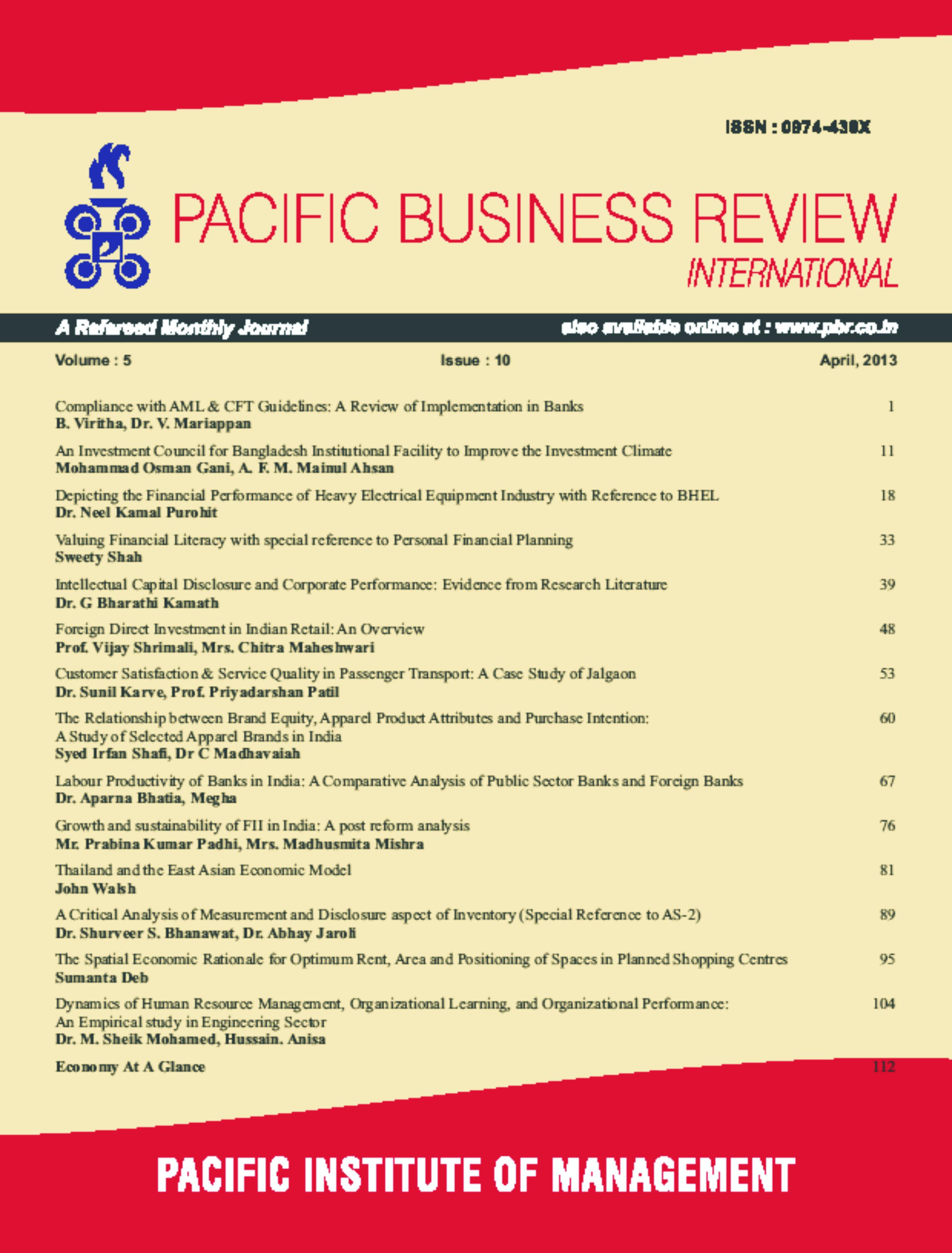 East Asian Economic Review 116